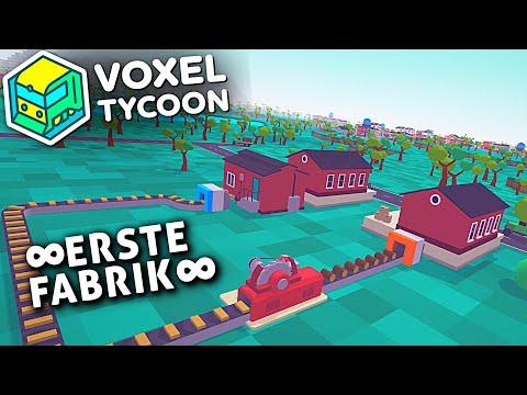 ERSTE FABRIK in VOXEL TYCOON Deutsch German Gameplay #2
