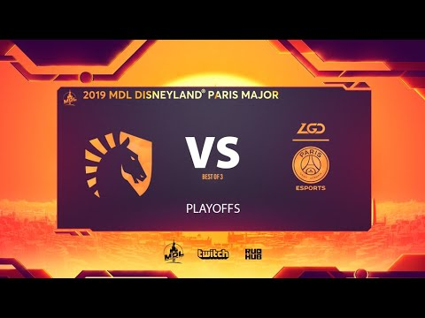 Team Liquid vs PSG.LGD, MDL Disneyland® Paris Major, bo3, game 3 [Lex & 4ce]