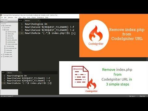 Menghilangkan index.php pada URL CodeIgniter (3)
