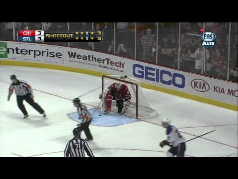 Full shootout April 4 2013 St. Louis Blues vs Chicago Blackhawks NHL Hockey