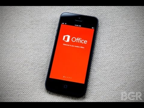Microsoft Office for iPhone Review: Hands On and First Look!