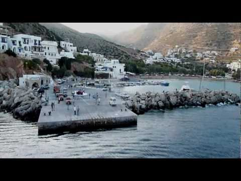 Boats in the Cyclades (Part 1: Paros, Sikinos, Folegandros, Milos)