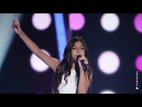 Isabella Sings Love On Top | The Voice Kids Australia 2014