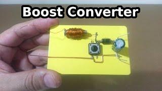 Step up - Boost Konverter nasıl çalışır?