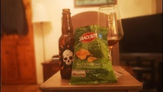 #15 | Crooked Stave Adambier x Snackrite Salt & Vinegar Crisps | Clueless Eating