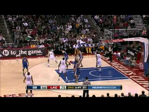 Blake Griffin jumps high, collects rebound
