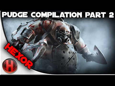 hexOr Pudge Compilation Part 2/2 | Dota 2 Gameplay