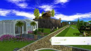 Short Ad for Two Moon Gardens in Second Life