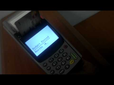 How To Perform A Transaction On A Creon Pos Terminal