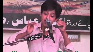 Ali Abbas Askry ;zikr e shah e La Fatah hey Aaj ; majlis jalsa 12 zulhaj 2015 Chak 107 s,b Sargodha