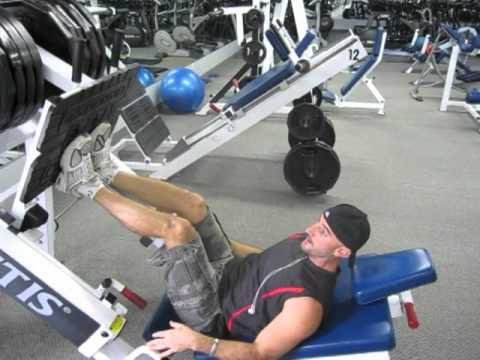 Killer Leg Workout: Leg Press Dropset Image 1