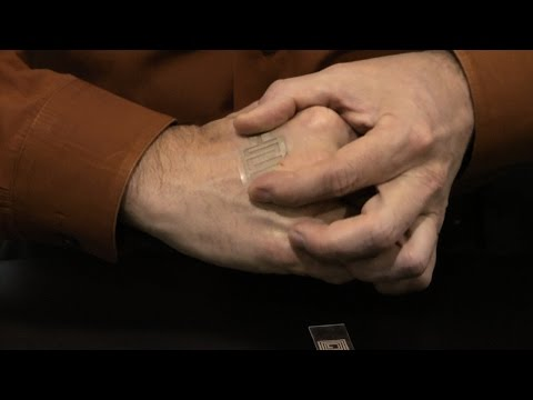 CES 2015 - Heat and motion-powered wearable electronics for improved health