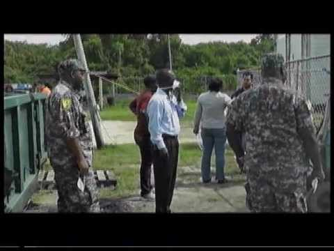 Drugs destroyed in belize as media watch