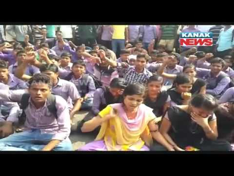 College Student Dies In Accident, Protesters Burn Dumpher In Balasore