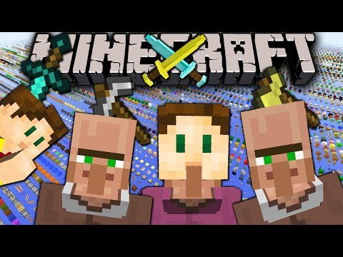 Minecraft 1.8 Snapshot: Guardian Weakness 3D Items Villager Block Hats Ocean Monument Toggle