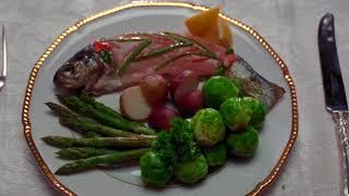 The Aviator 2004 - Lunch scene