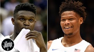 NBA rookies think Cam Reddish, not Zion Williamson, will have the better career | The Jump