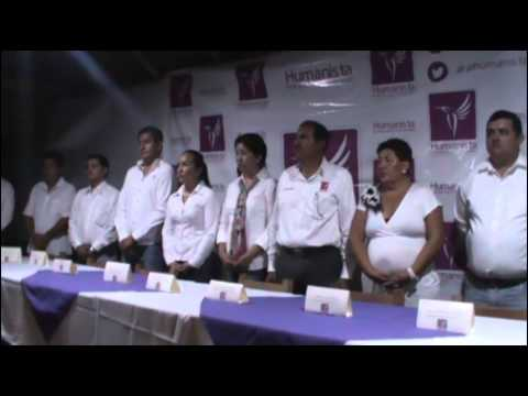 toma de protesta del partido humanista  en manzanillo