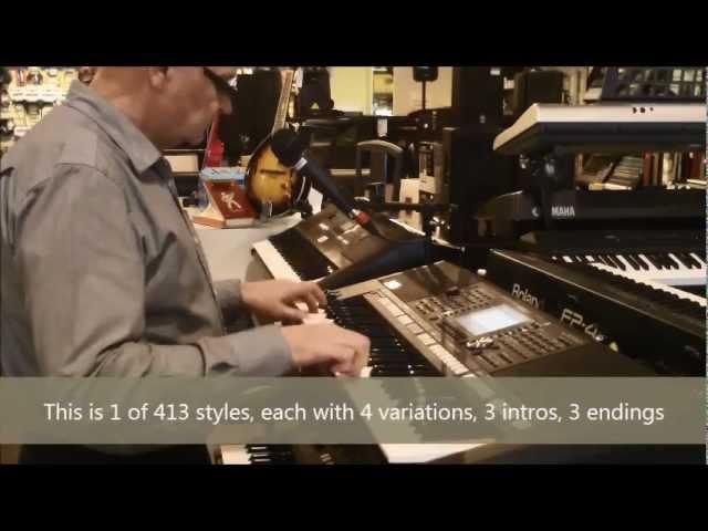 Yamaha PSR-S950 demo