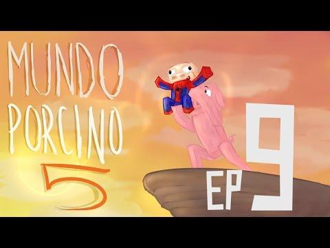 LLUVIA DE ARAÑAS! | EP.9 | MUNDO PORCINO 5