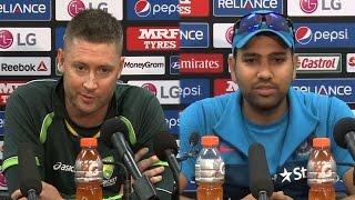 Rohit Sharma vs Michael Clarke: War of Words – India vs Australia