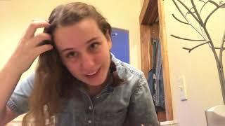 Just braiding my hair