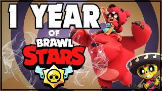 BRAWL STARS BIRTHDAY! Year in review with Lex