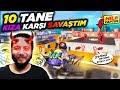 10 KIZLA vs ATTIM! HİLE YAPTIM ÇILDIRDILAR!! PUBG Mobile Komik Anlar ( Troll )