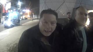 Old School Half Jew New Yorker Who Loves President Trump Shows Up At Jew Shia Labeouf's Cult Cam