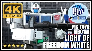 Magic Square MS-Toys MS01W LIGHT OF FREEDOM WHITE Transformers Masterpiece Ultra Magnus