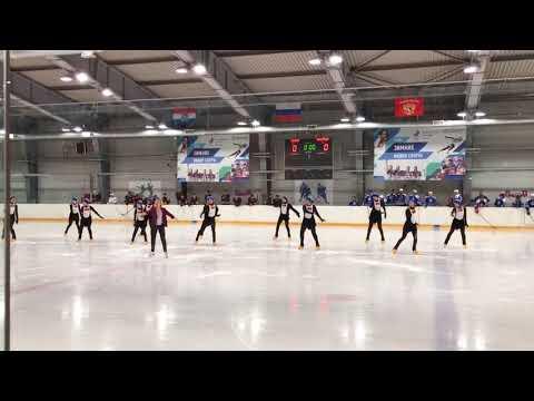 2018 05 09 показательный номер на хоккейном турнире