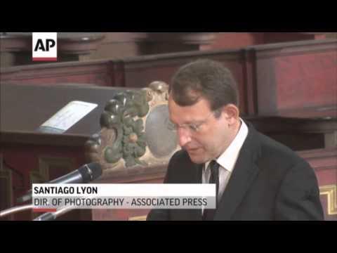 AP Honors Niedringhaus at Funeral in Germany