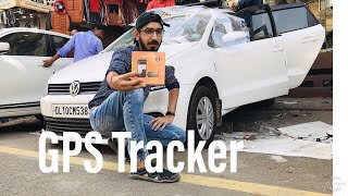 Installing High security GPS tracker on My New Car..❤️