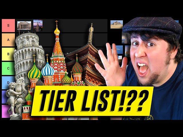 Architecture Tier List - JonTron thumbnail