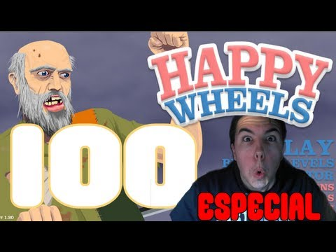 HAPPY WHEELS - ESPECIAL 100 Episodios