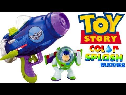 Aqua Blast Spaceship Color Changers Splash buddies Buzz Lightyear Toy Story water-gun