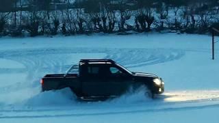 Nissan Navara Distractie si Off-Road Iarna 2018