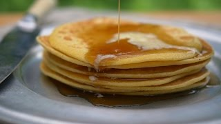 Delicious Cornmeal Pancakes From The 18th Century