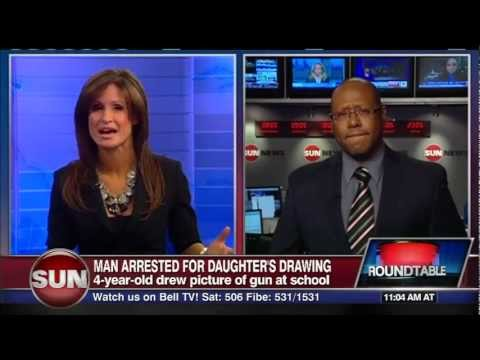 POLICE STATE - Cops Arrest Father After His Daughter Draws A Picture Of Him With A Gun At School