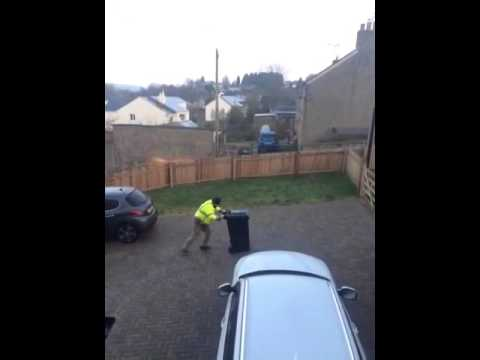 Trouble Putting the bins out