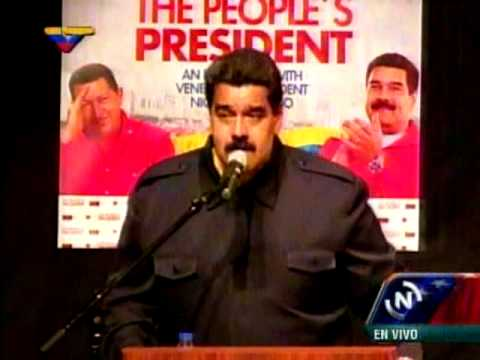 Nicolás Maduro en Nueva York