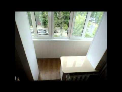 Video лоджия переделана под кухню. лоджия-кухня. - download .
