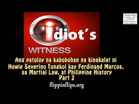 SEVERINO ng GMA-7, GINAGAWANG BOBO ANG FILIPINO SA MARTIAL LAW! Part 2