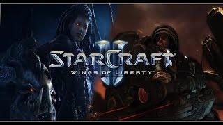 Starcraft 2 Wings of Liberty Gameplay PL #17b Na infekcję Zergów nie ma lekarstwa