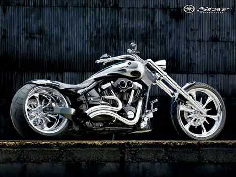 Motos choppers e custom