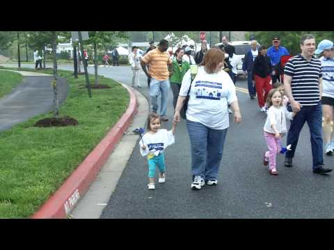Hannah walks for The Family Tree to prevent child abuse