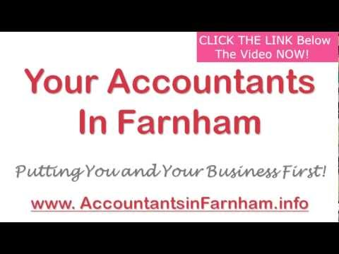 Accountancy Services in Farnham - Affordable Accountants in Farnham Surrey