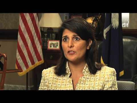 Gov. Nikki Haley Interview On Women In Politics