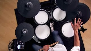Yamaha DTX760K Electronic Drum Kit Demo with Steven Fisher