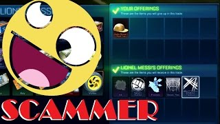 TRADING MY ALPHA CAP!!! DUMBEST SCAMMER ON EARTH? [Rocket League HD : Episode 29]